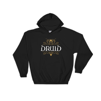 Dungeons and Dragons Shirt - Druid Hooded Sweatshirt - DnD Shirts Dungeon Armory