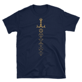 Dungeons and Dragons Shirt - Bronze Dice Sword Unisex RPG Shirt - DnD Shirts Dungeon Armory
