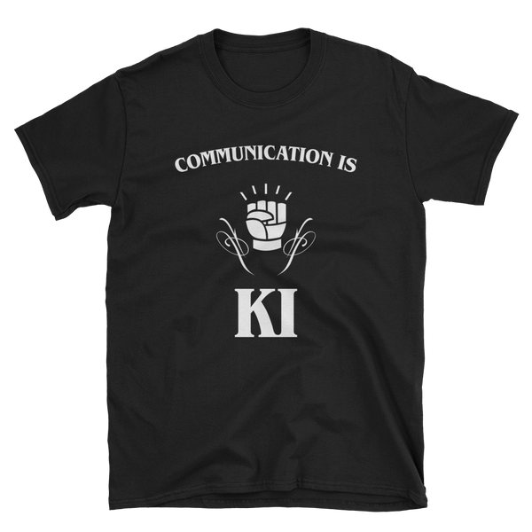 Dungeons and Dragons Shirt - Communication is Ki - Monk Unisex RPG Shirt - DnD Shirts Dungeon Armory