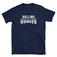 Rolling With My Homies Unisex RPG Shirt - Dungeon Armory - Tabletop RPG Shirt Dungeons & Dragons T-Shirt Pathfinder RPG T-Shirt