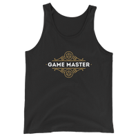 Game Master Unisex RPG Tank Top - Dungeon Armory - Tabletop RPG Shirt Dungeons & Dragons T-Shirt Pathfinder RPG T-Shirt