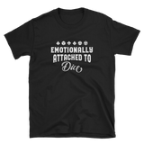 Emotionally Attached to Dice Unisex RPG Shirt - Dungeon Armory - Tabletop RPG Shirt Dungeons & Dragons T-Shirt Pathfinder RPG T-Shirt