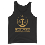 Dungeons and Dragons Shirt - Rules Lawyer - Trust Me, I Know Unisex RPG Tank Top - DnD Shirts Dungeon Armory