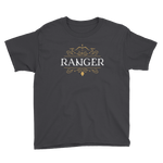 Ranger Youth Short Sleeve T-Shirt - Dungeon Armory - Tabletop RPG Shirt Dungeons & Dragons T-Shirt Pathfinder RPG T-Shirt