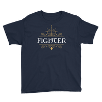 Fighter Youth Short Sleeve T-Shirt - Dungeon Armory - Tabletop RPG Shirt Dungeons & Dragons T-Shirt Pathfinder RPG T-Shirt