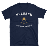 Blessed and Well Dressed - Cleric Unisex T-Shirt - Dungeon Armory