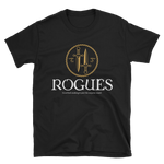 Rogues Emblem - Rogue Unisex RPG Shirt - Dungeon Armory - Tabletop RPG Shirt Dungeons & Dragons T-Shirt Pathfinder RPG T-Shirt