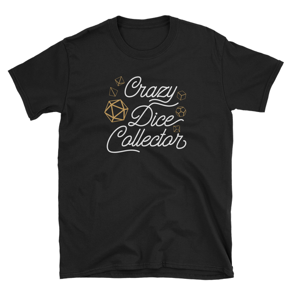 Crazy Dice Collector Unisex RPG Shirt - Dungeon Armory - Tabletop RPG Shirt Dungeons & Dragons T-Shirt Pathfinder RPG T-Shirt