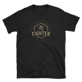 Fighter Character Class Emblem Unisex RPG Shirt - Dungeon Armory - Tabletop RPG Shirt Dungeons & Dragons T-Shirt Pathfinder RPG T-Shirt