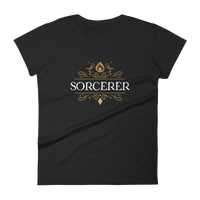 Dungeons and Dragons Shirt - Sorcerer Emblem Women's RPG Shirt - DnD Shirts Dungeon Armory
