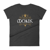 Monk Emblem Women's RPG Shirt - Dungeon Armory - Tabletop RPG Shirt Dungeons & Dragons T-Shirt Pathfinder RPG T-Shirt