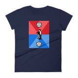 Dungeons and Dragons Shirt - Critical Fail Penguin - D20 Dice Women's RPG Shirt - DnD Shirts Dungeon Armory