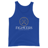 Dungeons and Dragons Shirt - Fighters Emblem Unisex RPG Tank Top - DnD Shirts Dungeon Armory