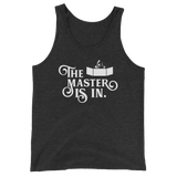 Dungeons and Dragons Shirt - The Master is In Game Master Unisex Tank Top - DnD Shirts Dungeon Armory
