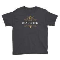 Warlock Youth Short Sleeve T-Shirt - Dungeon Armory - Tabletop RPG Shirt Dungeons & Dragons T-Shirt Pathfinder RPG T-Shirt