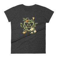 Druid's D20 Dice Women's RPG Shirt - Dungeon Armory - Tabletop RPG Shirt Dungeons & Dragons T-Shirt Pathfinder RPG T-Shirt
