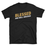 Clerics Blessed and Well Dressed Unisex RPG Shirt - Dungeon Armory