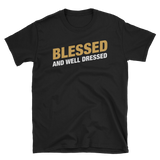 Dungeons and Dragons Shirt - Clerics Blessed and Well Dressed Unisex RPG Shirt - DnD Shirts Dungeon Armory