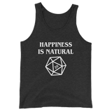 Happiness is Natural 20 Unisex RPG Tank Top - Dungeon Armory - Tabletop RPG Shirt Dungeons & Dragons T-Shirt Pathfinder RPG T-Shirt