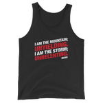 Dungeons and Dragons Shirt - Unyielding and Unrelenting Monk Unisex RPG Tank Top - DnD Shirts Dungeon Armory
