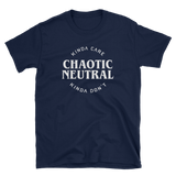 Chaotic Neutral Kinda Care Kinda Don't Unisex RPG Shirt - Dungeon Armory - Tabletop RPG Shirt Dungeons & Dragons T-Shirt Pathfinder RPG T-Shirt