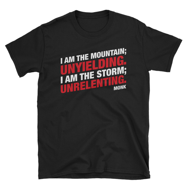 Dungeons and Dragons Shirt - Unyielding and Unrelenting Monk Unisex RPG Shirt - DnD Shirts Dungeon Armory