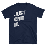Dungeons and Dragons Shirt - Just Crit It Meme Unisex RPG Shirt - DnD Shirts Dungeon Armory