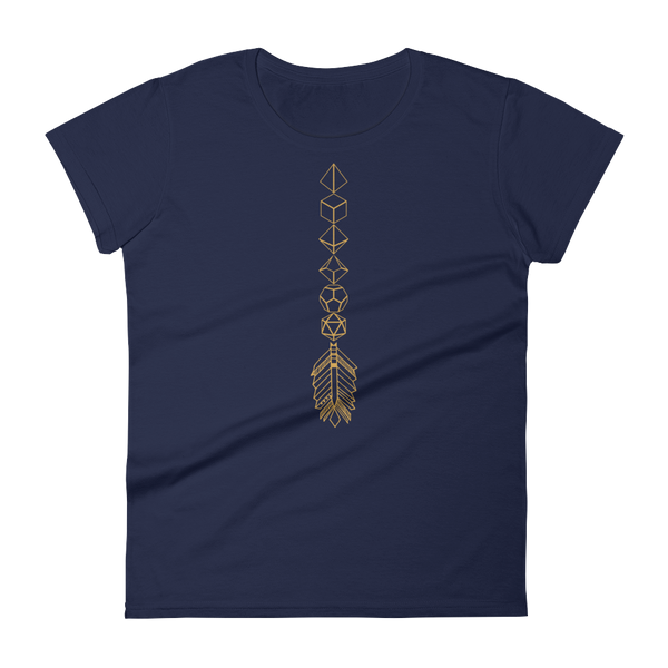 Dungeons and Dragons Shirt - Bronze Dice Sword Dice Collector Women's RPG Shirt - DnD Shirts Dungeon Armory