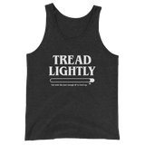 Tread Lightly Meme Unisex RPG Tank Top - Dungeon Armory - Tabletop RPG Shirt Dungeons & Dragons T-Shirt Pathfinder RPG T-Shirt