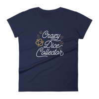Crazy Dice Collector Women's RPG Shirt - Dungeon Armory - Tabletop RPG Shirt Dungeons & Dragons T-Shirt Pathfinder RPG T-Shirt