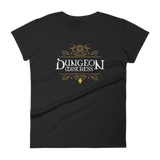 Dungeon Mistress - DM Women's RPG Shirt - Dungeon Armory - Tabletop RPG Shirt Dungeons & Dragons T-Shirt Pathfinder RPG T-Shirt
