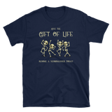 Dungeons and Dragons Shirt - Give the Gift of Life Become a Necromancer Today Necromancy Unisex RPG Shirt - DnD Shirts Dungeon Armory