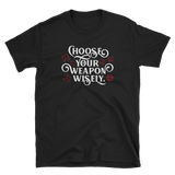 Dungeons and Dragons Shirt - Choose Your Weapon RPG Shirt - DnD Shirts Dungeon Armory