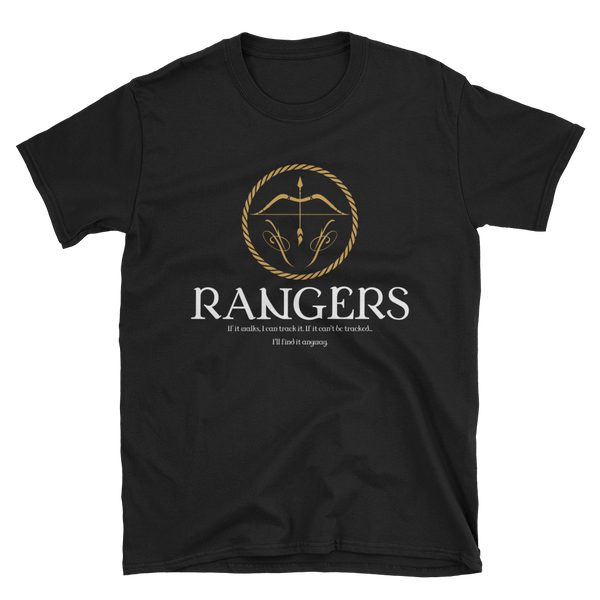 Dungeons and Dragons Shirt - Rangers Emblem Unisex RPG Shirt - DnD Shirts Dungeon Armory