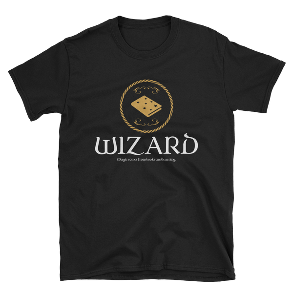 Dungeons and Dragons Shirt - Wizard Emblem Unisex RPG Shirt - DnD Shirts Dungeon Armory