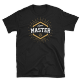 Game Master with D20 Dice Unisex RPG Shirt - Dungeon Armory - Tabletop RPG Shirt Dungeons & Dragons T-Shirt Pathfinder RPG T-Shirt