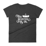 Dungeons and Dragons Shirt - The Master is In Dungeon Master Women's RPG Shirt - DnD Shirts Dungeon Armory