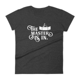 The Master is In Dungeon Master Women's RPG Shirt - Dungeon Armory - Tabletop RPG Shirt Dungeons & Dragons T-Shirt Pathfinder RPG T-Shirt