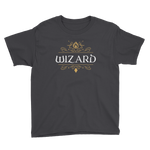 Wizard Youth Short Sleeve T-Shirt - Dungeon Armory - Tabletop RPG Shirt Dungeons & Dragons T-Shirt Pathfinder RPG T-Shirt