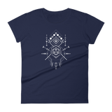 Boho Symbols D20 Dice Women's RPG Shirt - Dungeon Armory - Tabletop RPG Shirt Dungeons & Dragons T-Shirt Pathfinder RPG T-Shirt