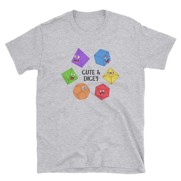 Cute and Dicey Unisex RPG Shirt