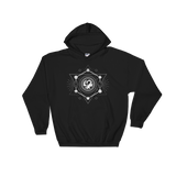 Dragon with Polyhedral Dice Set RPG Hoodie - Dungeon Armory - Tabletop RPG Shirt Dungeons & Dragons T-Shirt Pathfinder RPG T-Shirt