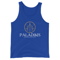 Paladins Emblem Unisex RPG Tank Top - Dungeon Armory - Tabletop RPG Shirt Dungeons & Dragons T-Shirt Pathfinder RPG T-Shirt