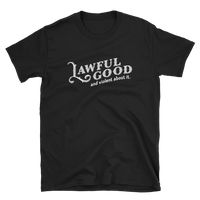Lawful Good and Violent About It Paladin Unisex RPG Shir - Dungeon Armory - Tabletop RPG Shirt Dungeons & Dragons T-Shirt Pathfinder RPG T-Shirt