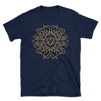 D20 Dice Monogram Design Unisex RPG Shirt - Dungeon Armory