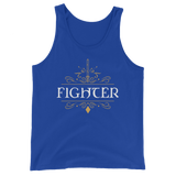 Dungeons and Dragons Shirt - Fighter Emblem Unisex RPG Tank Top - DnD Shirts Dungeon Armory