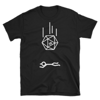 D20 Dice Critical Hit Meme Unisex RPG Shirt - Dungeon Armory - Tabletop RPG Shirt Dungeons & Dragons T-Shirt Pathfinder RPG T-Shirt