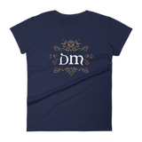 DM Emblem Dungeon Master Women's RPG Shirt - Dungeon Armory - Tabletop RPG Shirt Dungeons & Dragons T-Shirt Pathfinder RPG T-Shirt