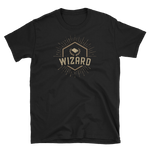 Wizard Character Class Emblem Unisex RPG Shirt - Dungeon Armory - Tabletop RPG Shirt Dungeons & Dragons T-Shirt Pathfinder RPG T-Shirt