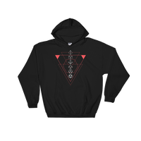 Minimalist Polyhedral Dice Set Unisex Hoodie - Dungeon Armory - Tabletop RPG Shirt Dungeons & Dragons T-Shirt Pathfinder RPG T-Shirt
